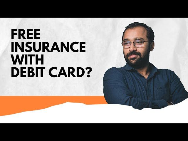 ₹10 Lakh Insurance Free with Debit Card #shorts