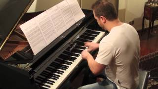 Diablo music -- Tristram Theme on piano