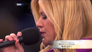 Kelly Clarkson - My Country 'Tis Of Thee -  Second Barack Obama Presidential Inauguration