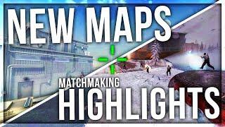 NEW MAPS MATCHMAKING HIGHLIGHTS (SUBZERO & BIOME)