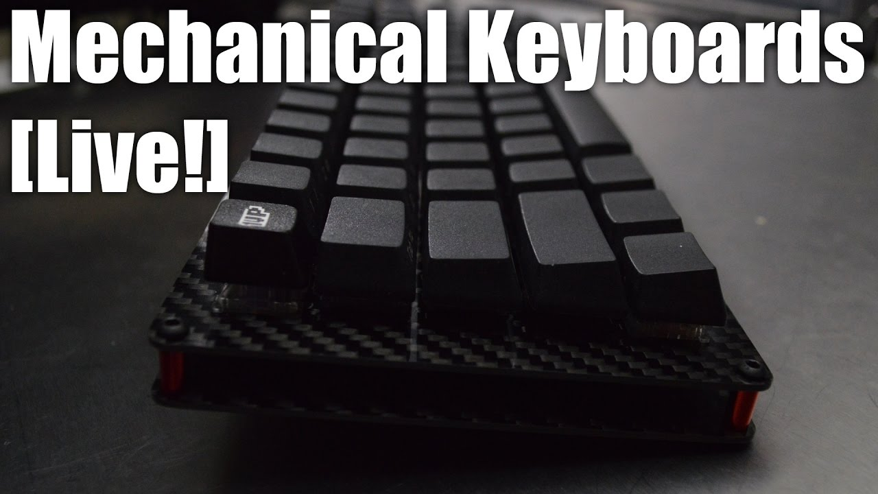 Mechanical Keyboards Live! - building a Gaming keyboard from scratch