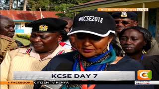 KCSE DAY 7 |Education CS Amina mohammedin Eldoret