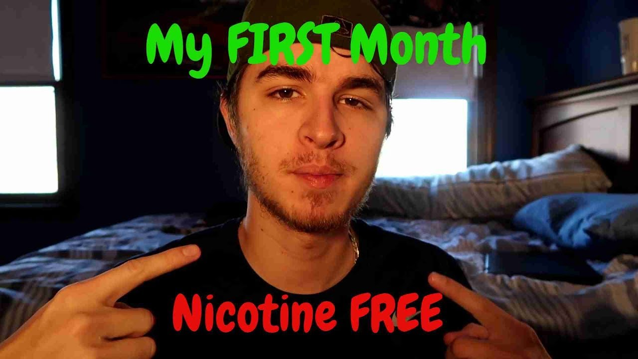 My First Month Nicotine FREE | How I Quit the JUUL