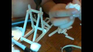 Preview Project:mini Catapult (spoiler Alert: Kid Without Glasses)