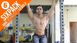 CARA LATIHAN PERUT | SIXPACK ABS WORKOUT - Level 2 | Six Pack, Fitness, Diet