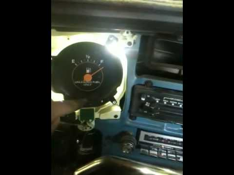 My 84 Chevy with LED instrument light conversion  YouTube