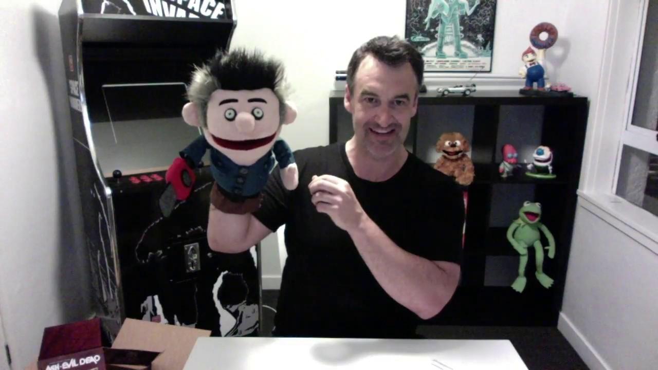 Unboxing NECA's Ashy Slashy Puppet Replica - Jeremy Dillon from Ash vs Evil Dead!
