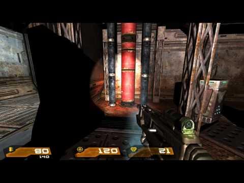 Quake 4 HD Walkthrough Part 27 - Tram Hub Station [2of2]  