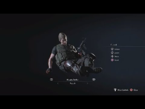 The Death Scenes Of The U B C S Members Resident Evil 3 Remake