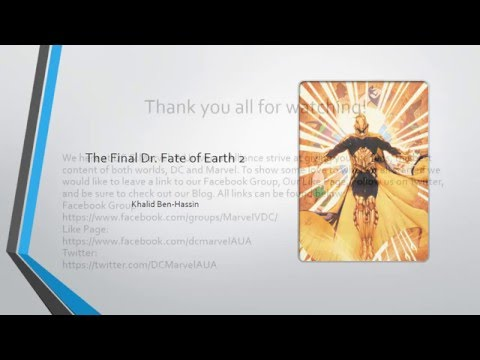 DC Character Spotlight - Doctor Fate - YouTube
