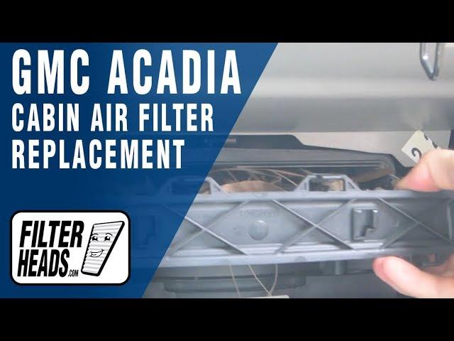 K/&N Cabin Air Filter Fits 2007-2015 GMC Acadia 2007-2010 Saturn Outlook