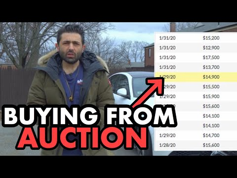 Buying Used Cars .. Retail Vs AUCTION Wholesale