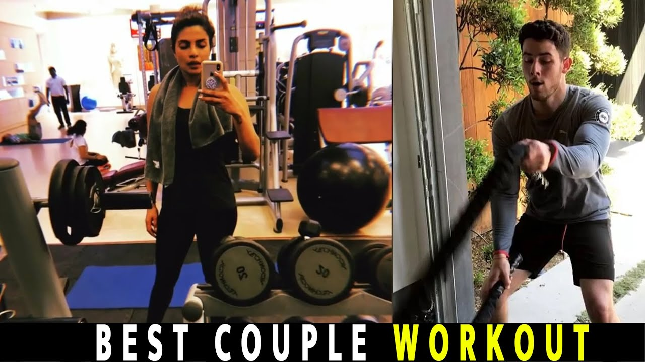 Priyanka Chopra on why couples workout with Nick Jonas in ...
