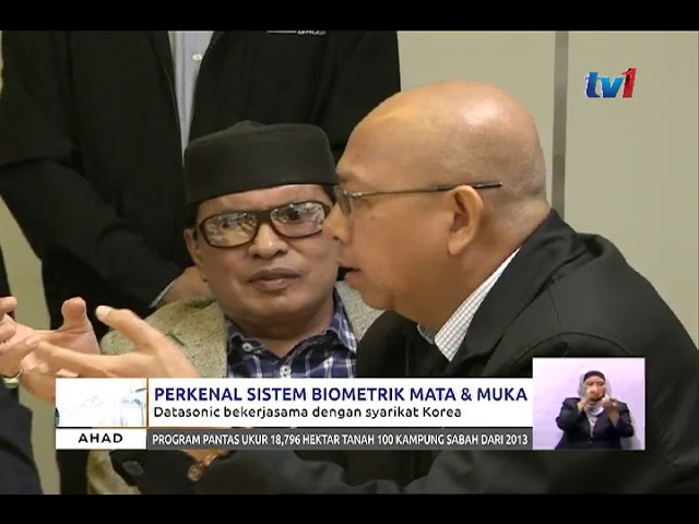 Malaysia TV1 channel news video
