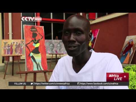 South Sudanese artists call for end to violence through art