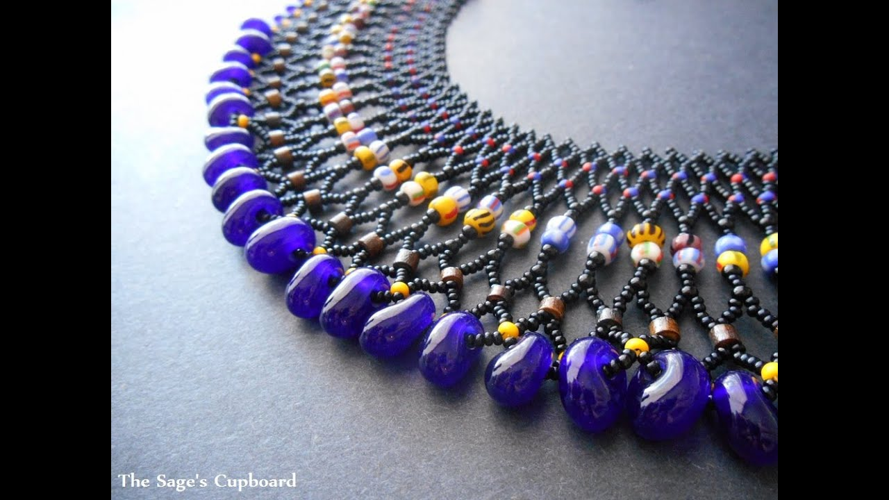 The Jewelry of Ancient Worlds Modern Beads - YouTube