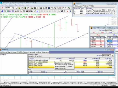 Hang Seng Futures live trading by Robin Ho - part 1.mov