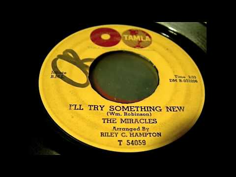 The Miracles - I'll Try Something New 45 rpm! mp3