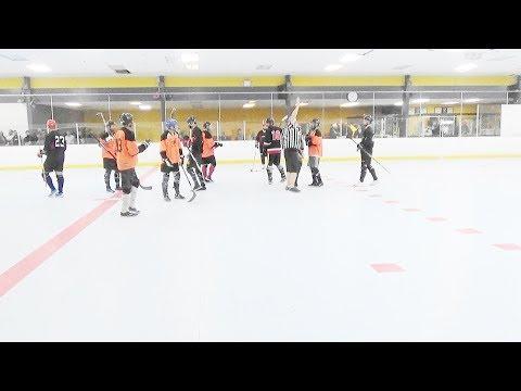 """NWO vs. Surrey Crooks (12/1/17) (Div """"1"""" Playoff Round 1 Game 1) Ball Hockey"""