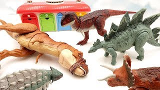 Let's defeat T-Rex, which annoys the toys. Jurassic World 2 Fallen Kingdom Dinosaur Toys are Brave~ Mp3