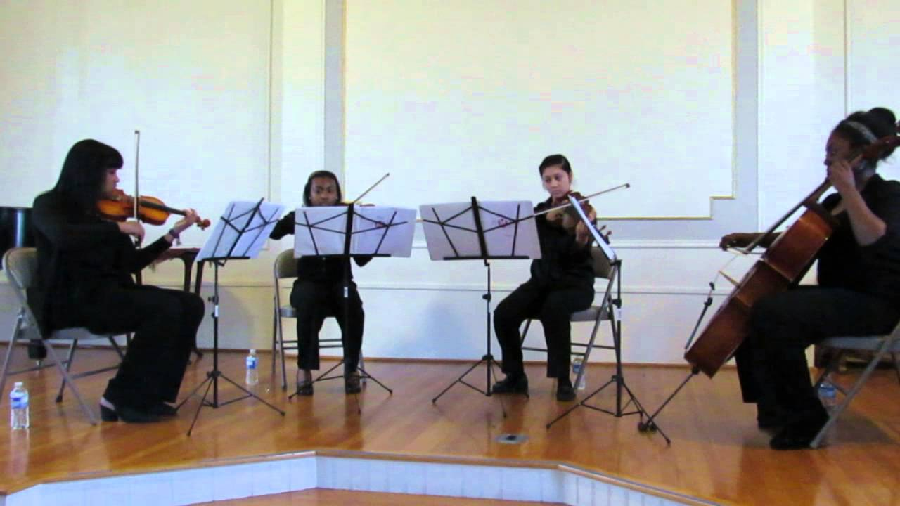 Chandelier String Quartet Cover - Sia // The Phoenix Quartet - YouTube