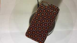 Luxury iPhone 5 Case with Swarovski Designed In Honeycomb Pattern Thumbnail