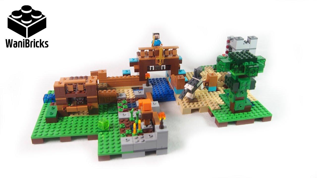 medium resolution of lego minecraft 21135 the crafting box 2 0 build 2 of 3 lego speed build