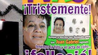 ¡LA POLEMICA FOTO DE JUAN GABRIEL!