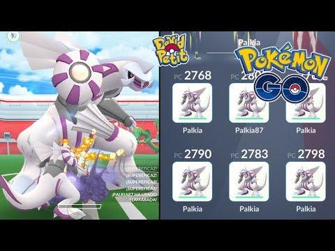 TEAM PALKIA VS INCURSIÓN LEGENDARIA DE PALKIA! [Pokémon GO-davidpetit] thumbnail