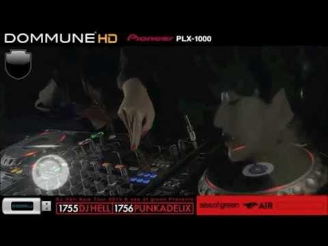 PUNKADELIX  @ DOMMUNE  (DJ HELL ASIA TOUR)