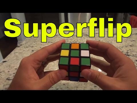 Rubik's Cube Pattern-The Superflip (Easy Tutorial)