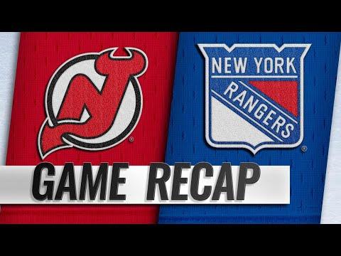 Lettieri nets overtime winner in 4-3 Rangers win