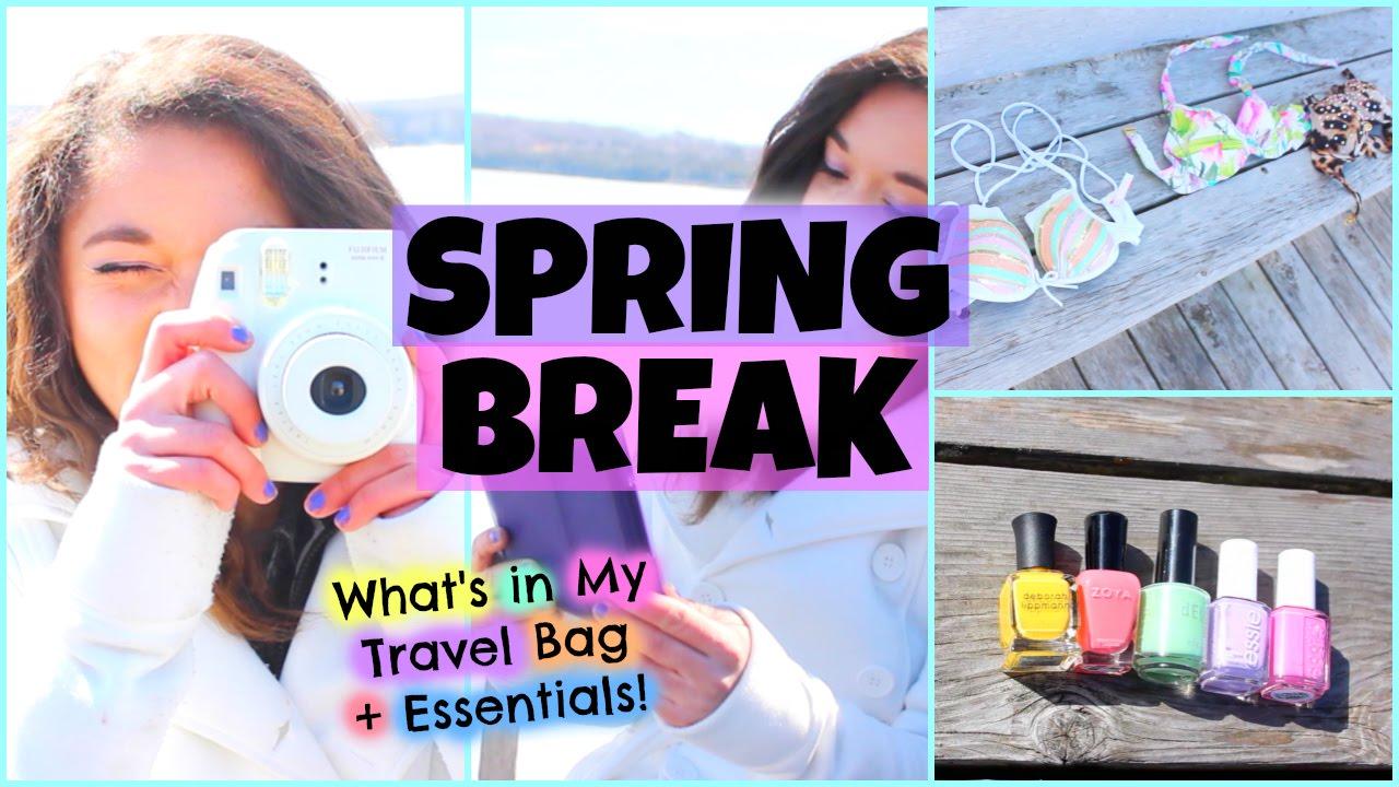 Whats In My Travel Bag Beach Essentials 2015 Roadtrip Edition