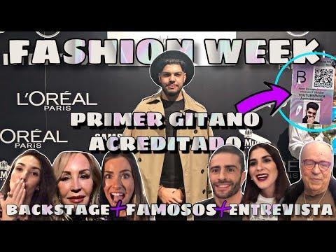VLOG FASHION WEEK MADRID 2019 *CON ACREDITACION* 🤩  | AARON ESCUDERO