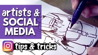 Tips for Artists on Social Media - Editing & Posting Your Art