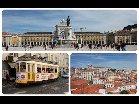 Lisbonne : Quartiers de la Baixa et de l'Alfama