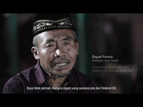 Pak Parmin, Pemenang 100jt Federal Oil Spesial Miliarder Periode 1