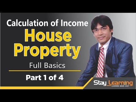 House Property  – Part 1 of 9 by Vijay Adarsh | Income Tax |B.Com (HINDI | हिंदी)
