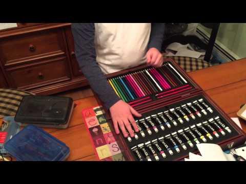 Art 101 Multi-Media Art Set Unboxing - Art Supplies