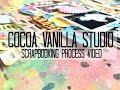 Scrapbooking Process #293 Cocoa Vanilla Studio / Love That Smile