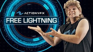 FREE 4K ActionVFX Lightning Assets Designed by Me!