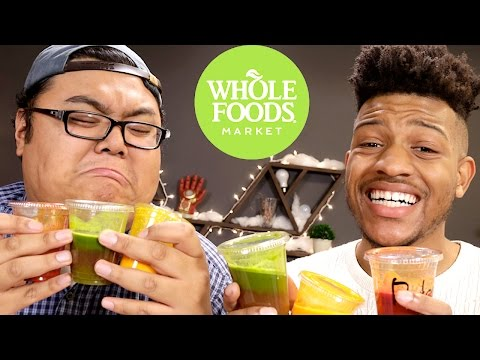 Every Whole Foods Wellness Shot - Taste Test