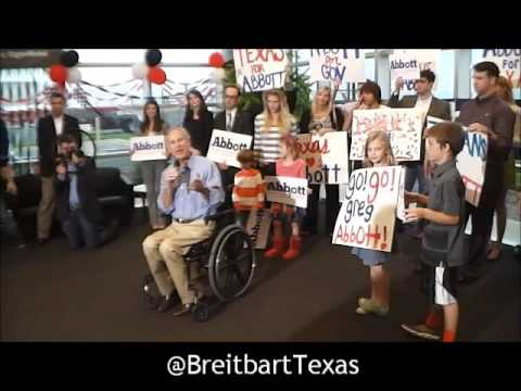 Greg Abbott GOTV Rally in Austin