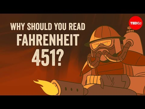"""Video image: Why should you read """"Fahrenheit 451""""? - Iseult Gillespie"""
