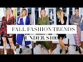 TOP 10 Fall Fashion under $100!!