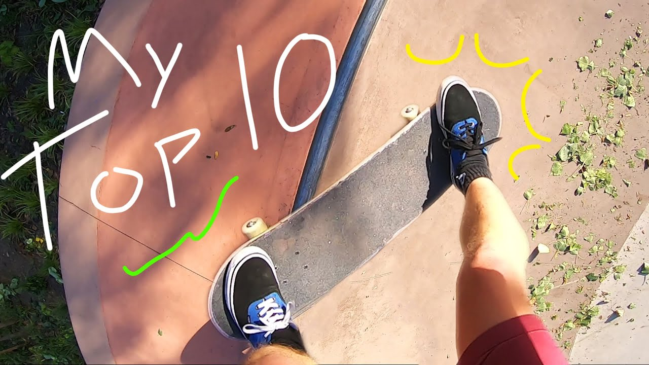 """These are My """"Go-To"""" Skateboarding Tricks..."""