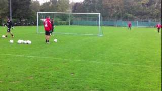 Tw-Training beim FSV Frankfurt
