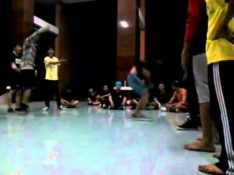 Friendlies hiphop (power vs style moves) - Bình Dương