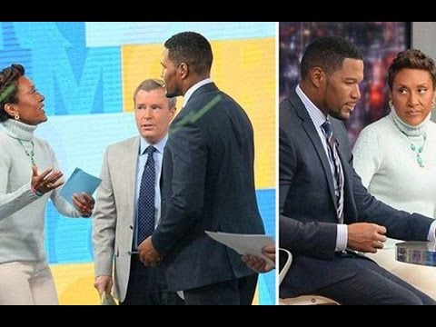 Michael Strahan And Robin Roberts Fight Has Kelly Ripa Smiling