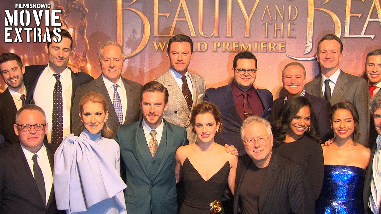 Beauty And The Beast World Premiere With Cast Interview Youtube